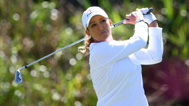 Cristie Kerr during the final round of the Kia Classic