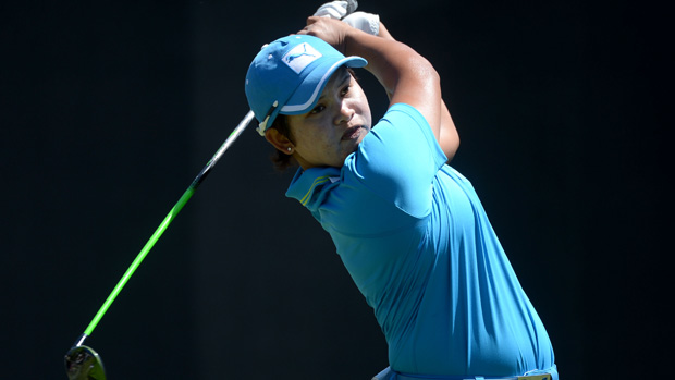 P.K. Kongkraphan during the final round of the Kia Classic