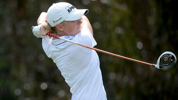 Stacy Lewis during the third round at the Kia Classic