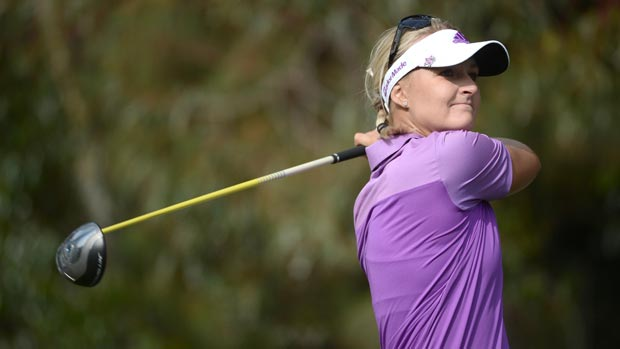Anna Nordqvist during the third round at the Kia Classic