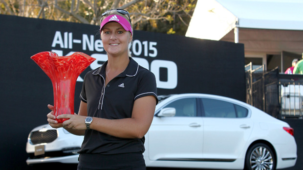 Anna Nordqvist during the final round of the Kia Classic