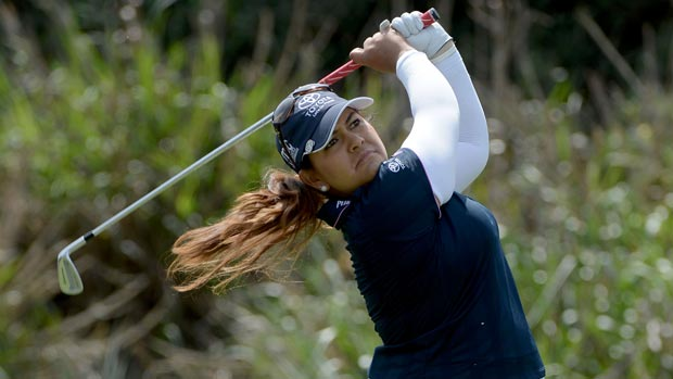 Lizette Salas during the second round of the Kia Classic