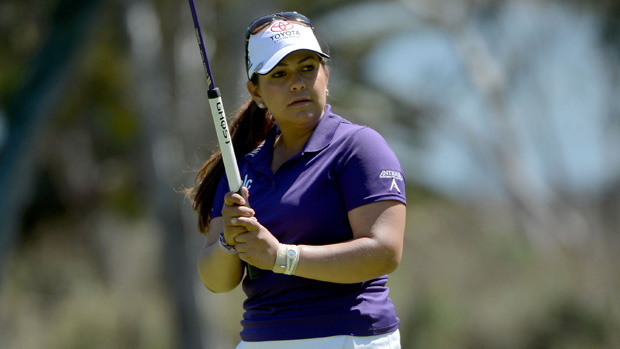 Lizette Salas during the final round of the Kia Classic