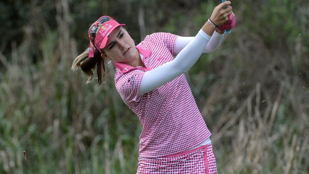 Lexi Thompson during the first round of the Kia Classic