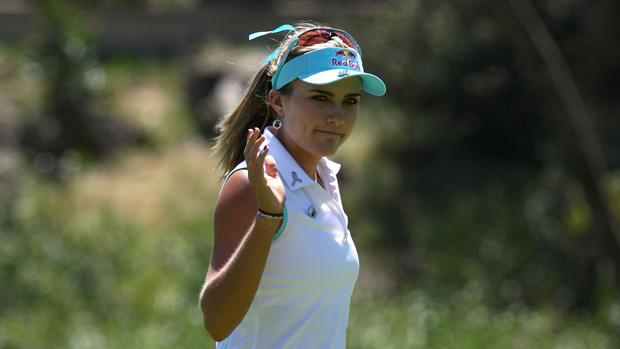 Lexi Thompson during the final round of the Kia Classic