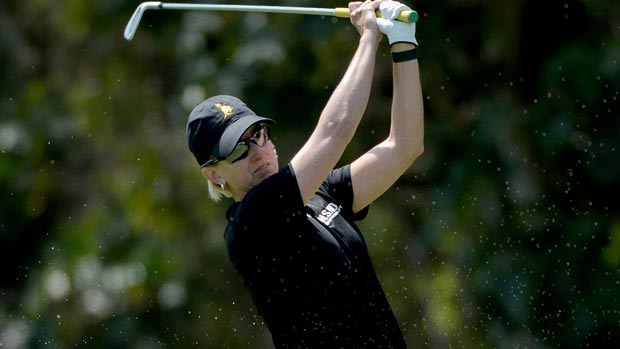 Karrie Webb during the third round at the Kia Classic
