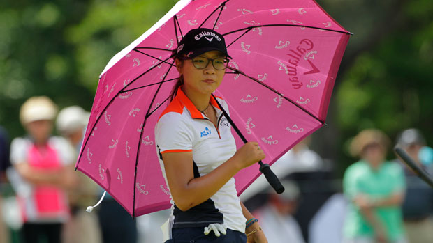 Lydia Ko during the first round of the 2014 Kingsmill Championship Presented by JTBC
