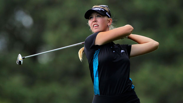 Jessica Korda during the second round of the 2014 Kingsmill Championship Presented by JTBC