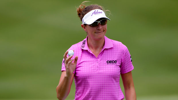 Brittany Lang during the second round of the 2014 Kingsmill Championship Presented by JTBC