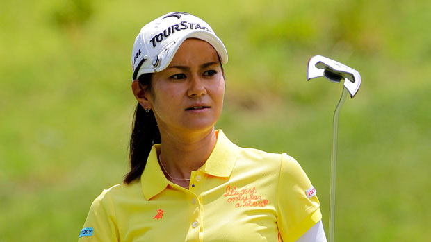 Ai Miyazato during the first round of the 2014 Kingsmill Championship Presented by JTBC