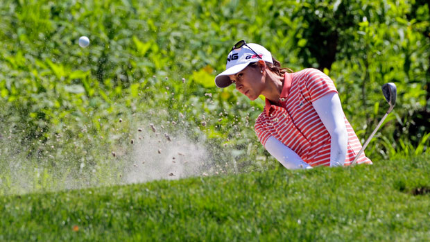 Azahara Munoz during the third round at the 2014 Kingsmill Championship Presented by JTBC