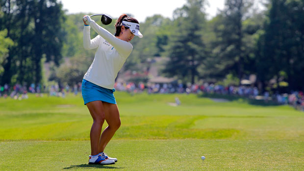 Hee Young Park during the third round at the 2014 Kingsmill Championship Presented by JTBC