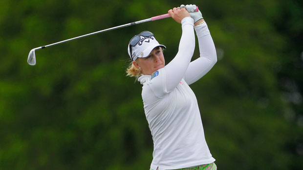 Morgan Pressel during the second round of the 2014 Kingsmill Championship Presented by JTBC