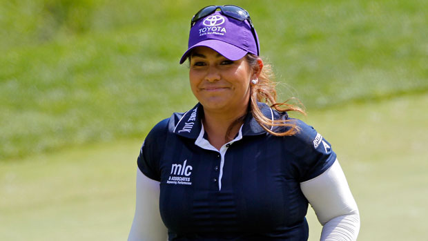 Lizette Salas during the Final Round at the 2014 Kingsmill Championship Presented by JTBC