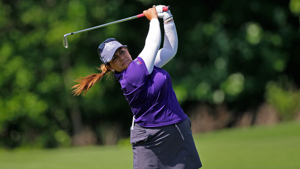 Lizette Salas during the third round at the 2014 Kingsmill Championship Presented by JTBC
