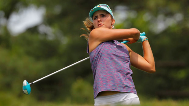 Lexi Thompson during the first round of the 2014 Kingsmill Championship Presented by JTBC