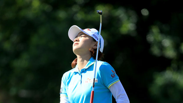 Na Yeon Choi during the first round of the 2014 Kraft Nabisco Championship