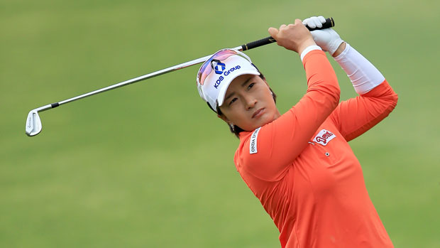 Se Ri Pak during the second round of the 2014 Kraft Nabisco Championship