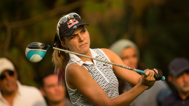 Lexi Thompson during the second round of the Lorena Ochoa Presented by Banamex