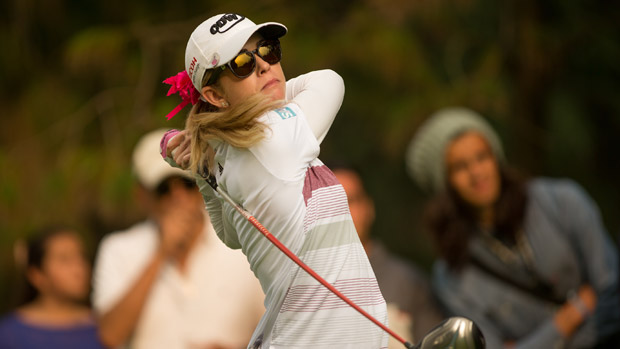 Paula Creamer during the second round of the Lorena Ochoa Presented by Banamex