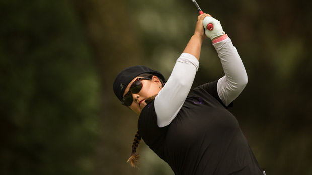 Christina Kim during the first round of the Lorena Ochoa Invitational Presented by Banamex
