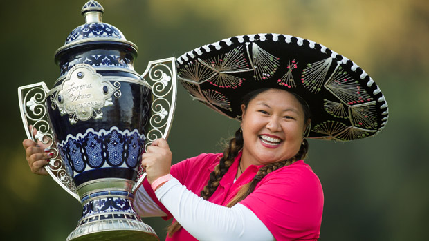 Christina Kim during the final round of the Lorena Ochoa Invitational Presented by Banamex