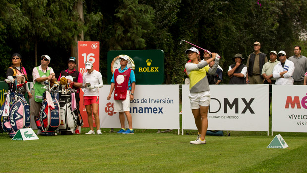 Lydia Ko during the second round of the Lorena Ochoa Presented by Banamex