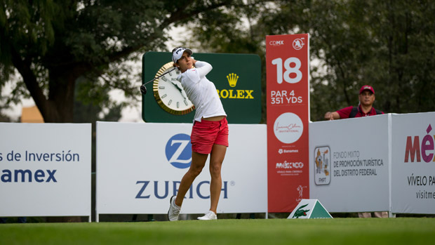 Azahara Munoz during the second round of the Lorena Ochoa Presented by Banamex