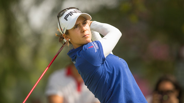 Azahara Munoz during the final round of the Lorena Ochoa Invitational Presented by Banamex