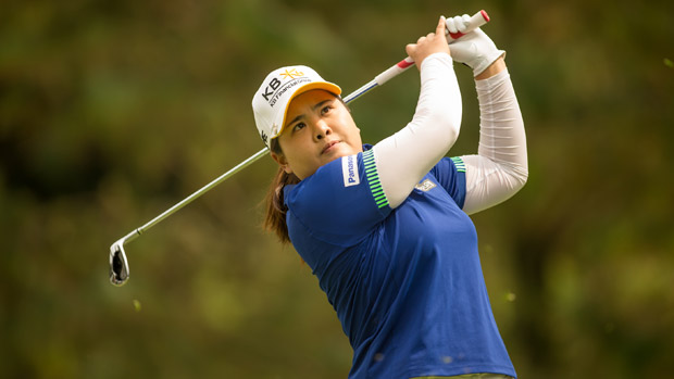 Inbee Park during the third round of the Lorena Ochoa Invitational Presented by Banamex
