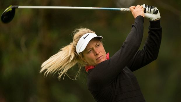 Suzann Pettersen during the second round of the Lorena Ochoa Presented by Banamex