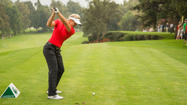 Suzann Pettersen during the third round of the Lorena Ochoa Invitational Presented by Banamex