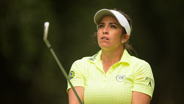 Gerina Piller during the second round of the Lorena Ochoa Presented by Banamex