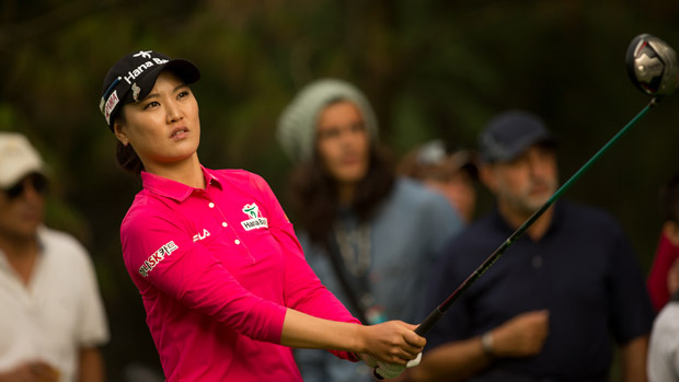 So Yeon Ryu during the second round of the Lorena Ochoa Presented by Banamex