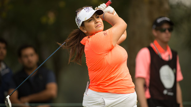 Lizette Salas during the first round of the Lorena Ochoa Invitational Presented by Banamex