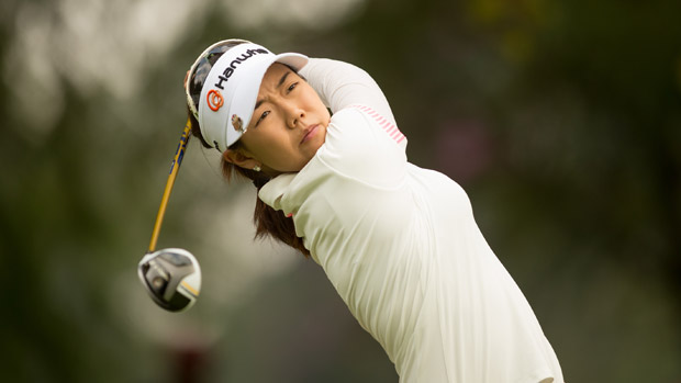 Jenny Shin during the first round of the Lorena Ochoa Invitational Presented by Banamex