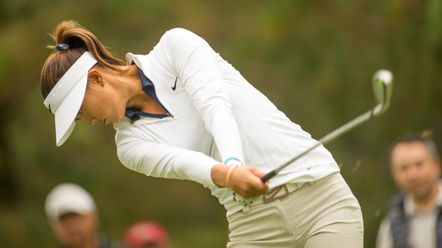 Michelle Wie during the third round of the Lorena Ochoa Invitational Presented by Banamex