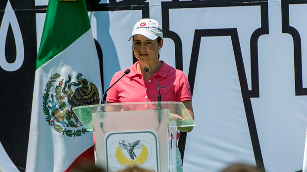 The government of Mexico City (Federal District) and Indeporte Mexico City welcome the Lorena Ochoa Invitational