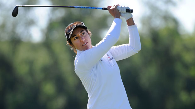 Marina Alex during the first round of the Manulife Financial LPGA Classic
