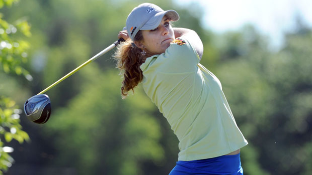 Anya Alvarez during the first round of the Manulife Financial LPGA Classic