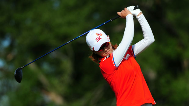 Na Yeon Choi during the second round of the Manulife Financial LPGA Classic