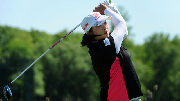 Shanshan Feng during the third round of the Manulife Financial LPGA Classic