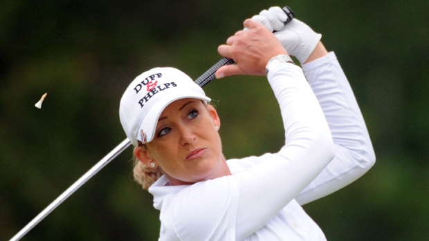 Cristie Kerr during the final round of the Manulife Financial LPGA Classic