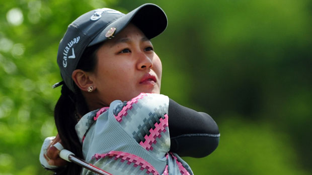 Xi Yu Lin during the second round of the Manulife Financial LPGA Classic