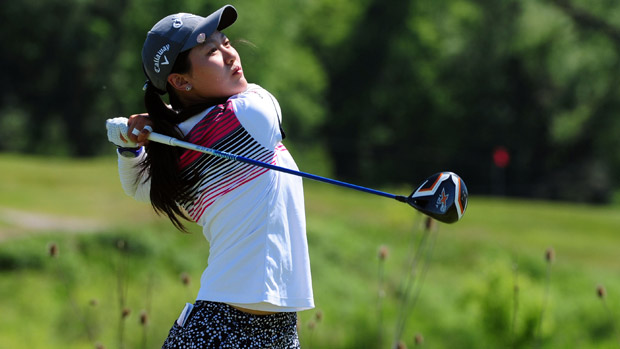 Xi Yu Lin during the third round of the Manulife Financial LPGA Classic