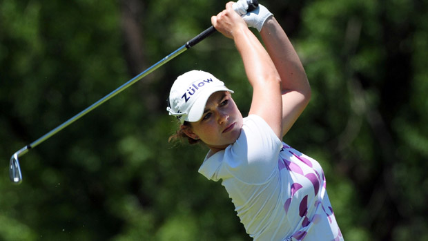 Caroline Masson during the third round of the Manulife Financial LPGA Classic
