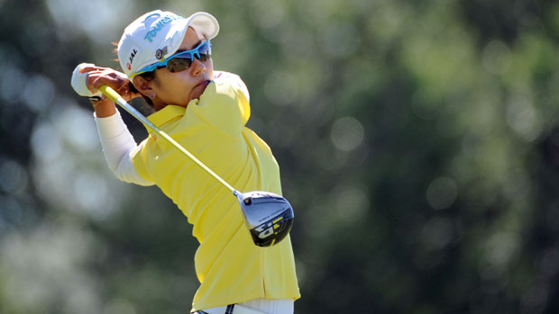 Ai Miyazato during the first round of the Manulife Financial LPGA Classic
