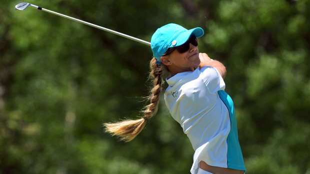 Belen Mozo during the third round of the Manulife Financial LPGA Classic