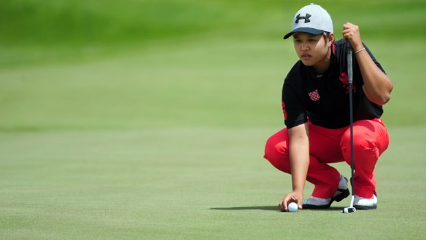 Haru Nomura during the second round of the Manulife Financial LPGA Classic