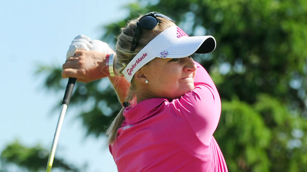 Anna Nordqvist during the second round of the Manulife Financial LPGA Classic